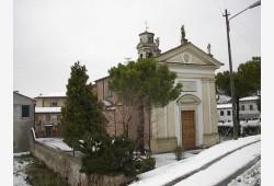 Chiesa di Roncajette - inverno