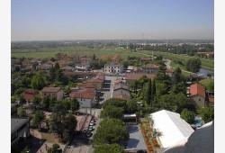 Veduta aerea dal campanile Chiesa Capoluogo