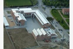 Vista aerea del Municipio (in fase di ultimazione lavori)